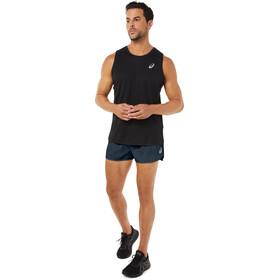 asics Core Split Shorts Men, blu